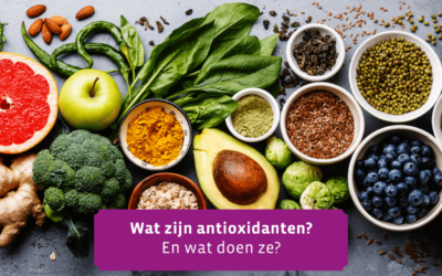 Antioxidants, what are they and how do they work?